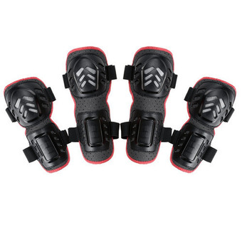 Fashion 4pcs Outdoor Sports Knee and Elbow Guards Protective Gear