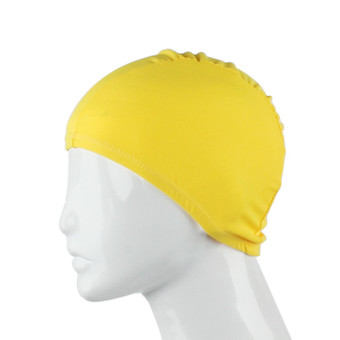 Fashion Adult Unisex Outdoor Sports Cap Colorful Solid Color Fabric Yellow