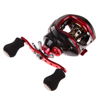 YZR 17+1 BB 6.3:1 Saltwater Baitcasting Fishing Reel Bait Magnetic left