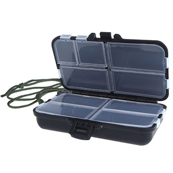Bluelans 9 Compartments Fishing Box