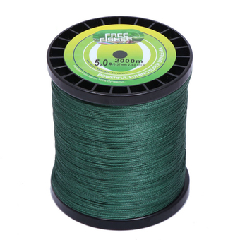 Amur Leopard Free Fisher 2000m Fishing Line Green