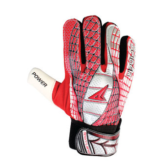 SPORTLAND Spider Goal Keeper Gloves No.10 - Red/Silver