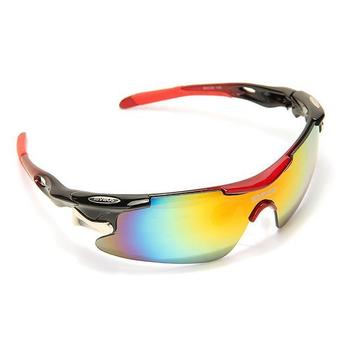 Polarized Sunglasses UV 400 with 5 Lens (Red)
