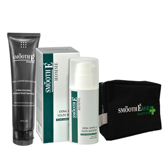 Smooth E Men Perfect Smooth Skin Set + กระเป๋า Smooth E Men