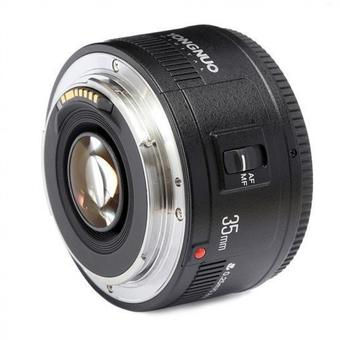 Yongnuo YN35mm F2 Lens 1:2 AF / MF Wide-Angle Fixed/Prime Auto Focus Lens For Canon EF Mount EOS Camera - Intl