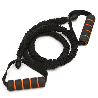 Autoleader Resistance Band Strength Stretch Belt Rope TRX Yoga Gym Training Fitness Workout - INTL