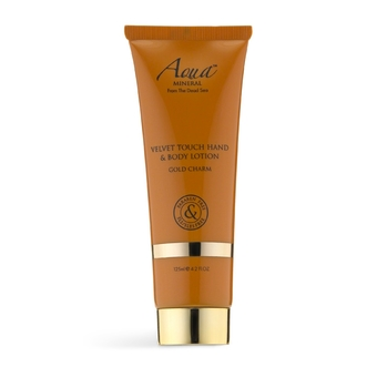 Aqua Mineral Velvet Touch Hand&Body Lotion Gold Charm