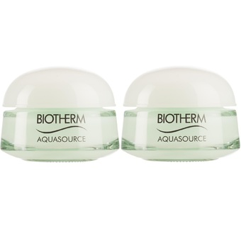 Biotherm Aquasource Gel 48h Continuous Release Hydration 15ml. 2 กระปุก (ขนาดทดลอง)