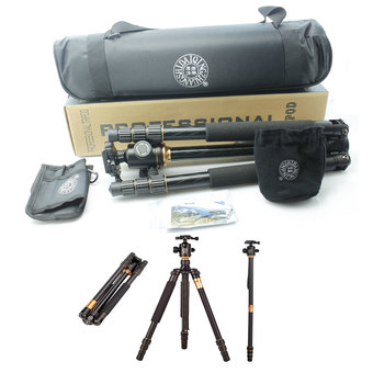 QZSD Q999 Pro Diamond Edition by 9FINAL ขาตั้งกล้อง 2 in 1 Tripod & Monopod