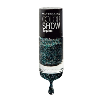 MAYBELLINE NEW YORK COLOR SHOW NAIL SEQUINS 825 SEA QUEEN 6 ml