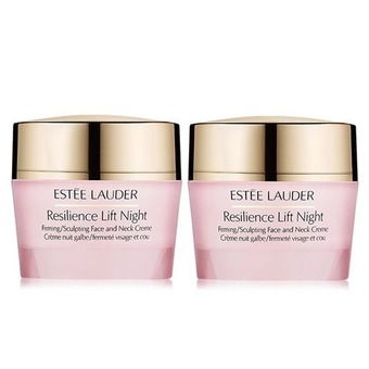 Estee Lauder Resilience Lift Firming Day Cream And Night Cream (15ml x 2 )