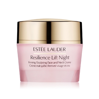 Estee Lauder Resilience Lift Night Firming/Sculpting Face and Neck Creme : 50ml. (สินค้าไม่มีกล่อง)
