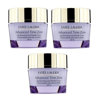 Estee Lauder Advanced Time Zone Age Reversing Line/Wrinkle Creme 15ml (3 ชิ้น)