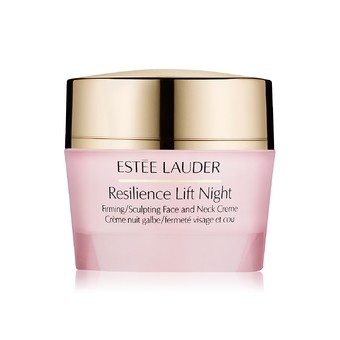 Estee Lauder Resilience Lift Night Firming / Sculpting Face and Neck Creme 15 ml.