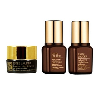 Estee Lauder Advanced Night Repair Eye 5ml. + Night Repair Synchronized Recovery Complex II 7ml. x 2 ขวด (ขนาดทดลอง)
