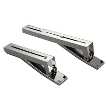 S & F Microwave Oven Universal Shelf Set of 2 (Silver)