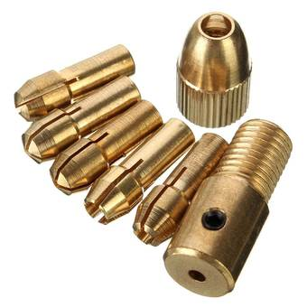 Autoleader NEW 0.5-3mm Small Electric Drill Bit Collet Micro Twist Drill Chuck Set - INTL