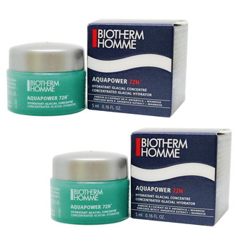 Biotherm Homme Aqua Power 72H Concentrated (5 ml. X 2 กล่อง)