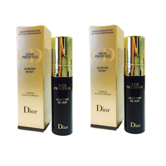 Dior Prestige Le Nectar De Nuit Night Serum 5 ml. (2 กล่อง)