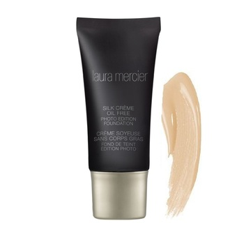 Laura Mercier Silk Crème Oil Free Photo Edition Foundation 30ml. (สี Cashew Beige)