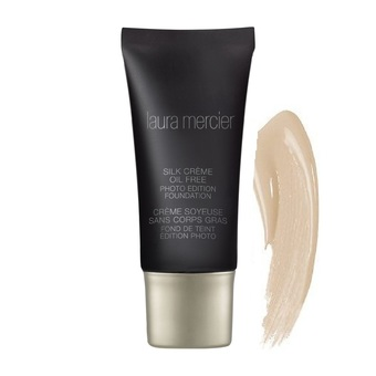 Laura Mercier Silk Crème Oil Free Photo Edition Foundation 30ml. (สี Sand Beige)