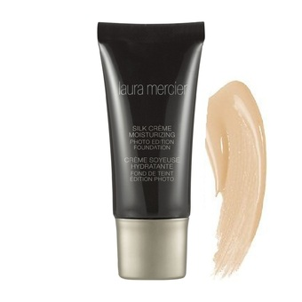 Laura Mercier Silk Crème Moisturizing Photo Edition Foundation สี Cashew Beige (30ml.)