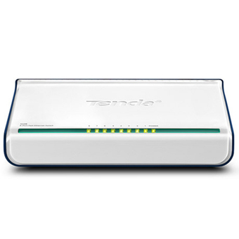 TENDA NETWORK SWITCH HUB 8 PORT 10/100 (TD-S108)