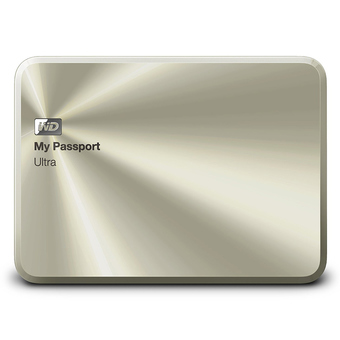 WD MY PASSPORT ULTRA 1TB Metal Edition (WDBTYH0010BCG) - China Gold