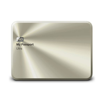 "WD My Passport Ultra 2.5"" Metal 2TB - Gold"""