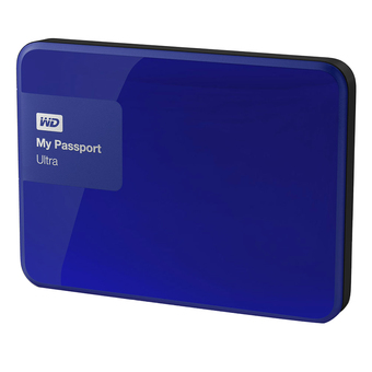 WD My Passport Ultra USB 3.0 Secure 2TB รุ่น WDBBKD0020BBL-PESN New Model (Blue)