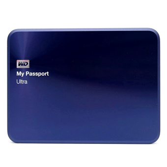 WD MY PASSPORT ULTRA 1TB Metal Edition (WDBTYH0010BBA) - Blue Black