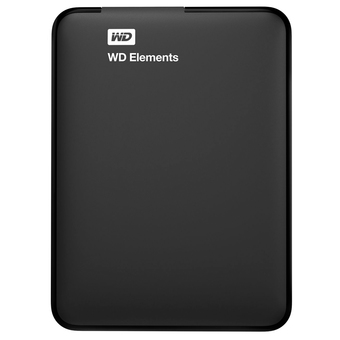WD Elements 1TB USB 3.0 External Hard Drive รุ่น WDBUZG0010BBK