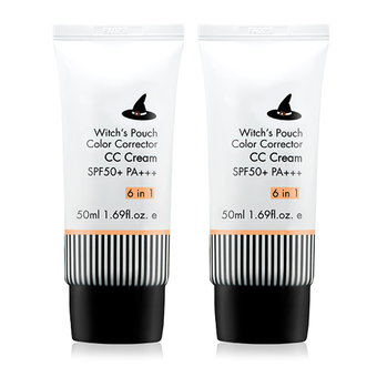 Witch's Pouch CC Cream SPF50+PA+++ 50ml (2 ชิ้น)