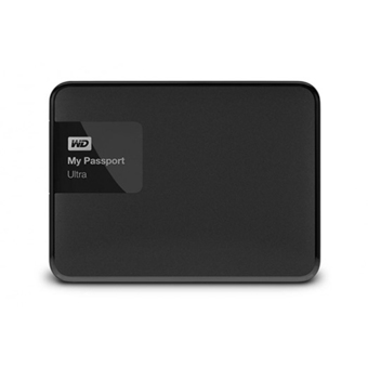 WESTERN HDD External 1.0 TB 5400RPM MY PASPORT ULTRA WDBGPU0010BBK (BLACK)