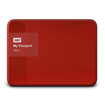 WESTERN HDD Hard Disk External 2.5 2TB WD MY PASSPORT ULTRA RED (WDBBKD0020BRD)
