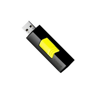 APACER FLASH DRIVE 8 GB AH332 (BLACK/YELLOW)