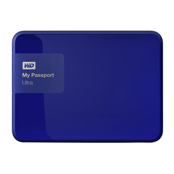 WESTERN HDD - Hard Disk External 500 GB. 5400RPM WDBWWM5000ABL (BLUE)