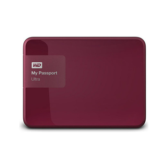 WESTERN HDD External 1.0 TB 5400RPM MY PASPORT ULTRA WDBGPU0010BBY (BERRY)