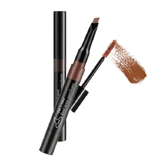 Witch's Pouch Get it Easy Dual Brow Pencilcara #02 Natural Brown