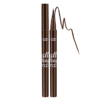 Etude House All Day FixPen Liner #2 Brown สีน้ำตาลเข้ม