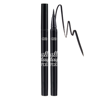 Etude House All Day FixPen Liner #1 Black สีดำสนิท