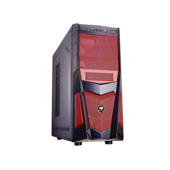 COUGAR ATX CASE VOLANT2-RE (RED)