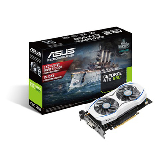 ASUS VGA Video Graphics Array NVIDIA (PCI-E) STX950 OC 2GD5