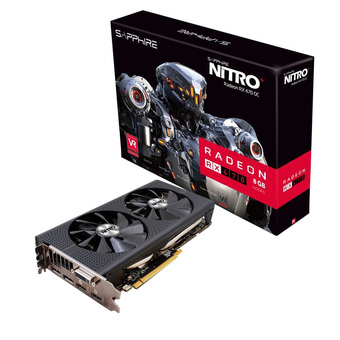 SAPPHIRE VGA - VIDEO GRAPHICS ARRAY RX 470 OC NITRO 8GB DDR5 256 BIT