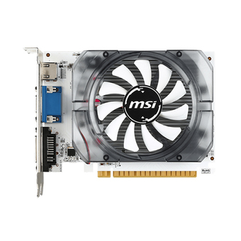 MSI VGA - Video Graphics Array NVIDIA (PCI-E) รุ่น GT730 2GB DDR3 ( White )