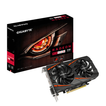 GIGABYTE VGA - VIDEO GRAPHICS ARRAY RX 460 OC 2GB DDR5 128 BIT