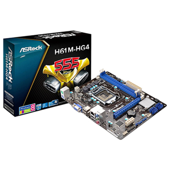 ASROCK M/B - Main/Mother Board SOCKET 1155 H61M-HG4