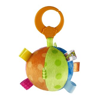 Taggies Fun Shape Rattle Ball