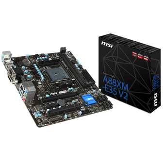 MSI M/B - MAIN/MOTHER BOARD SOCKET FM2+ A88XM-E35 V2 DDR3