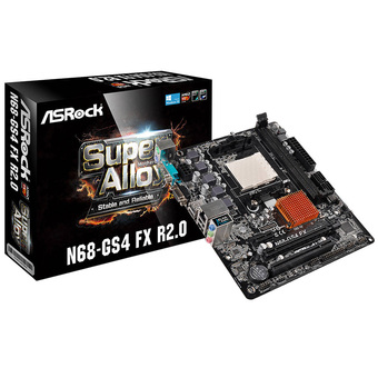 ASROCK M/B - Main/Mother Board SOCKET AM3+ N68-GS4 FX R2.0